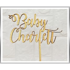 Baby - Curly Design