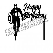 Happy Birthday - Captain America Theme