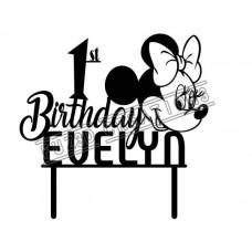 Happy Birthday - Minnie Mouse Theme