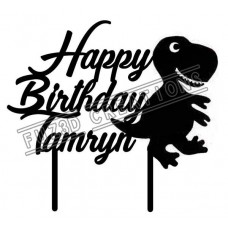 Happy Birthday - Dinosaur Theme