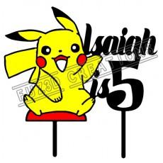 Happy Birthday - Colour Pikachu Theme