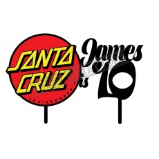 Happy Birthday - Colour Santa Cruz Theme