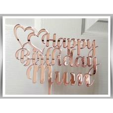 Happy Birthday - Love Hearts