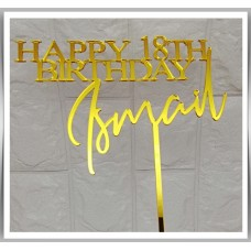 Happy Birthday - Bold Signature Design