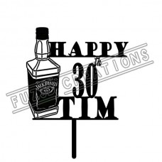 Happy Birthday - Jack Daniels Theme