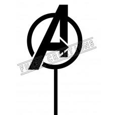 Avengers Logo Topper
