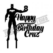 Happy Birthday - Batman Theme