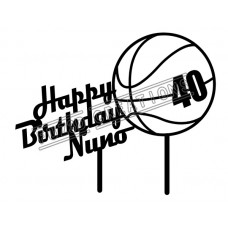 Happy Birthday - Basketball Theme