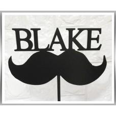 Happy Birthday - Moustache Theme