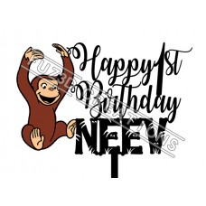 Happy Birthday - Curious George Theme