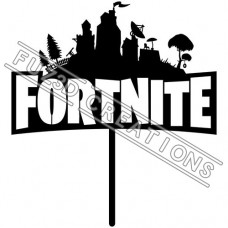 Fortnite Logo Topper