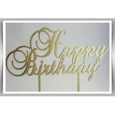 Happy Birthday - Traditional Cursive