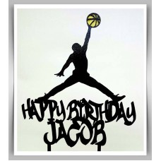 Happy Birthday - Basketball Jump Man Theme