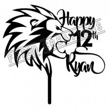 Happy Birthday - Lion Theme