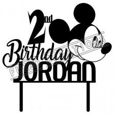 Happy Birthday - Mickey Mouse Theme
