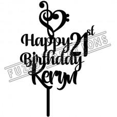 Happy Birthday - Music Theme
