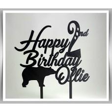 Happy Birthday - Bear Theme