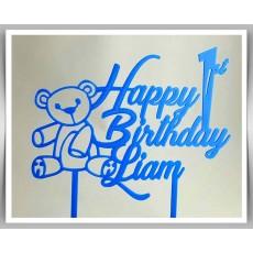 Happy Birthday - Teddy Bear Theme