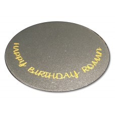Happy Birthday Cake Board Topper