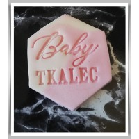 Cookie Stamp - Baby & Name