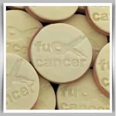 Cookie Stamp - F*ck Cancer