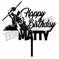 Happy Birthday - Melbourne Storm NRL Theme
