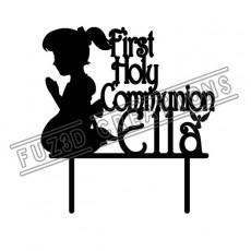 First Holy Communion - Praying Girl