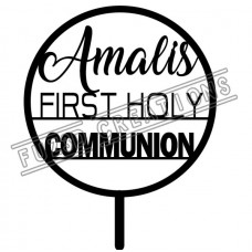 First Holy Communion - Circle Design