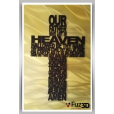Lord's prayer - Our Father - Cross