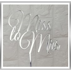 Wedding/Engagement - Miss to Mrs Topper