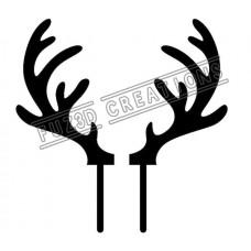 Reindeer Antlers - Large Size