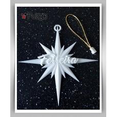 Personalised Ornamental Christmas Star