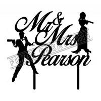 Mr & Mrs - 007 James Bond Theme