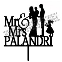 Mr & Mrs - with Baby and Girl