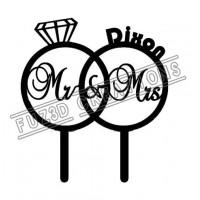 Mr & Mrs - Rings