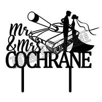 Mr & Mrs - Army Tank Theme