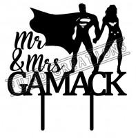 Mr & Mrs - Superman & Wonder Woman